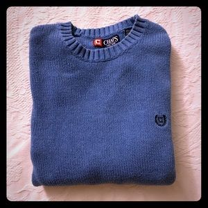 Chaps Crew Neck Pullover Sweater